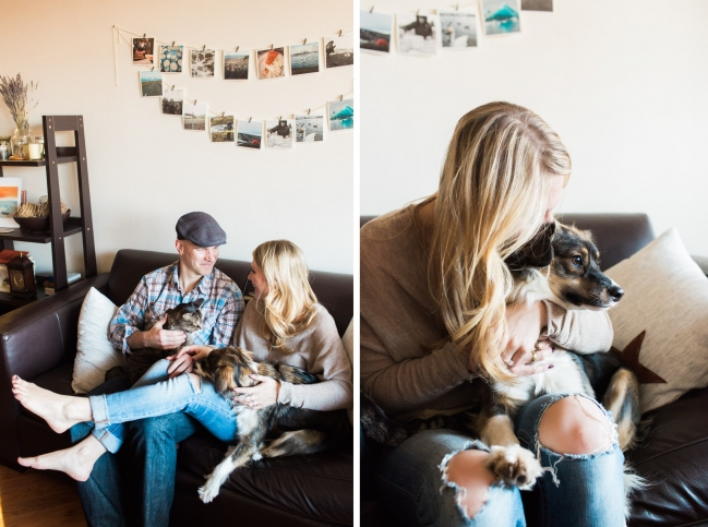 NYC In-home Engagement Session